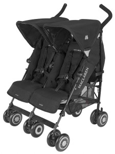 Maclaren Twin Techno Black gemelar